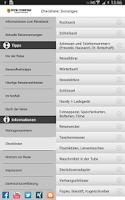 Screenshot of HUK Reise