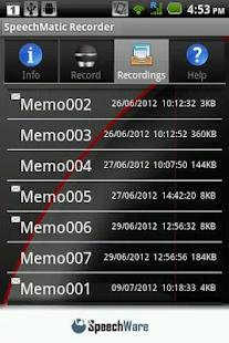 SpeechMatic Recorder - screenshot thumbnail