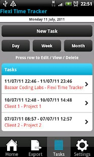 Flexi Time Tracker- screenshot thumbnail