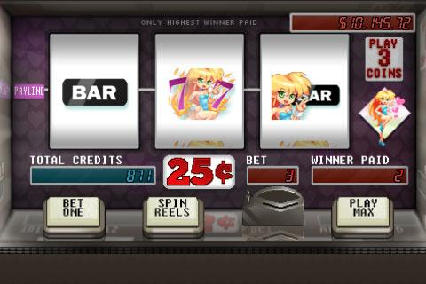 Smouldering 7s HD Slot Machine - screenshot