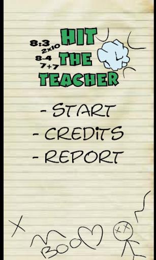 Hit The Teacher