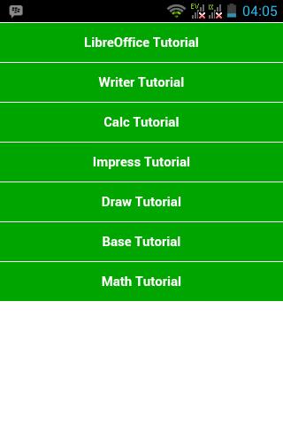 LibreOffice Tutorial