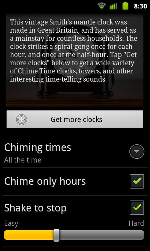 Chime Time - screenshot