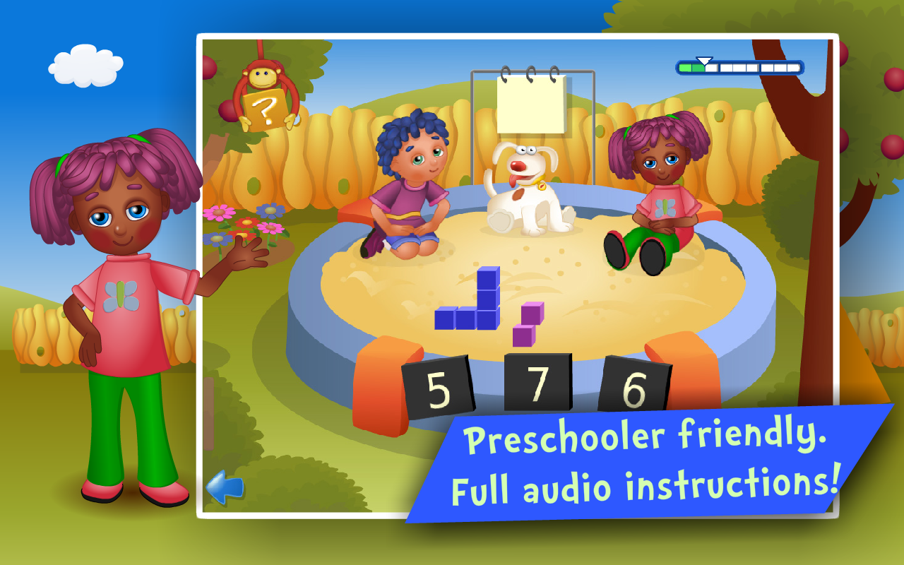 Counting & Addition Kids Games - screenshot