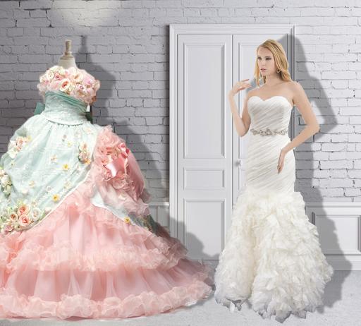 婚纱礼服装扮
