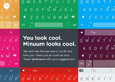 Minuum Keyboard + Smart Emoji Screenshot 4
