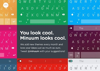 Minuum Keyboard + Smart Emoji v2.13