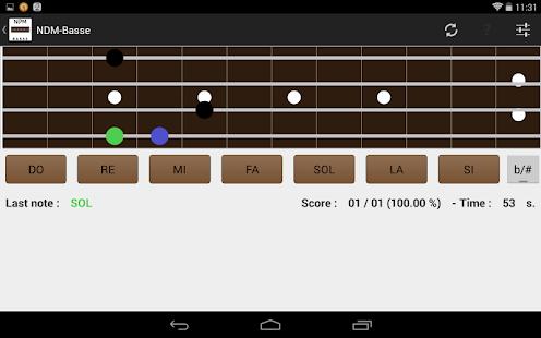 NDM-Basse (Music Notes)- screenshot thumbnail