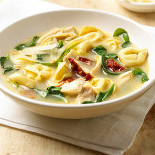 Tortellini Florentine Soup.