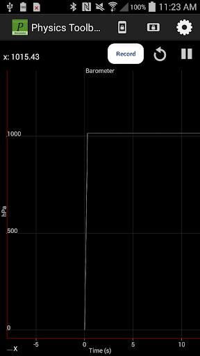 Physics Toolbox Barometer