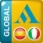 Spanish - Italian Translator Dictionary Global icon
