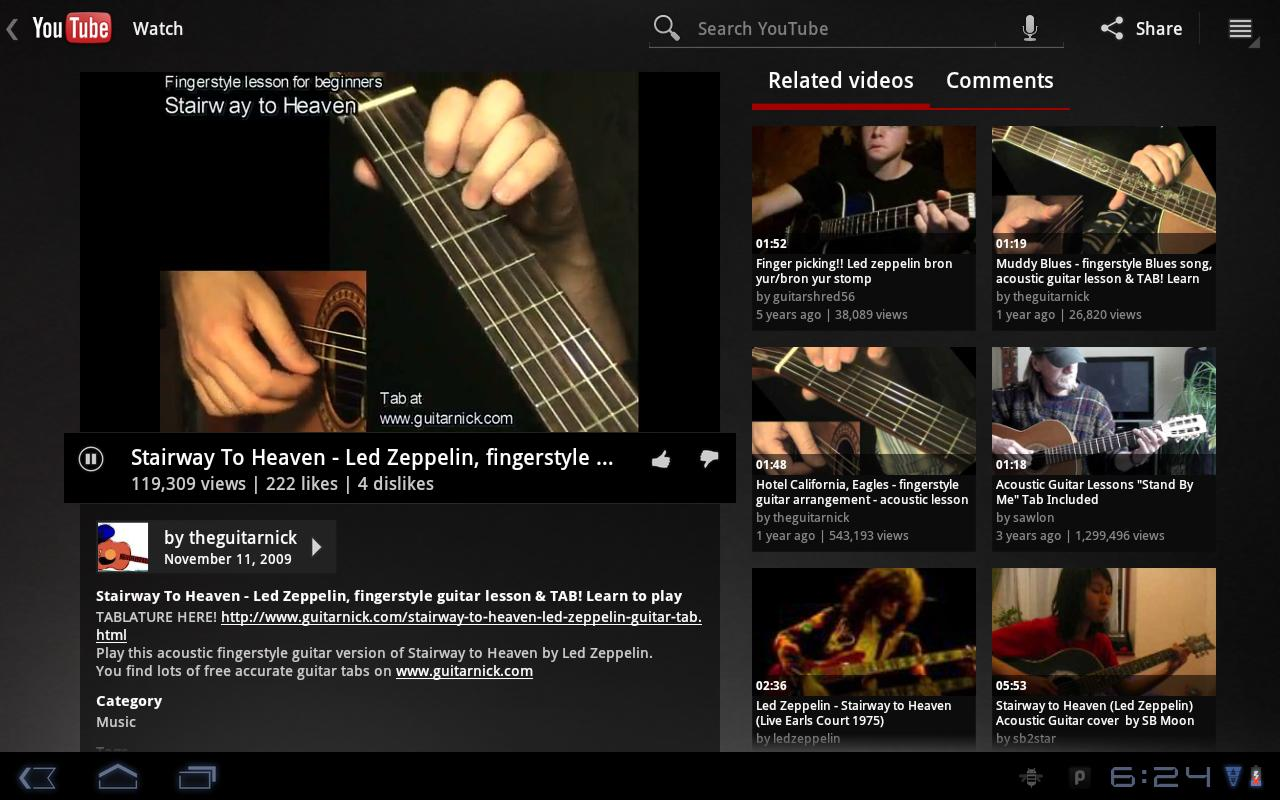 Pocket Jamz Guitar Tabs Lite - screenshot