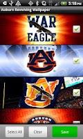 Screenshot of Auburn Revolving Wallpaper