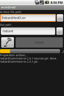 ArchiDroid - screenshot thumbnail