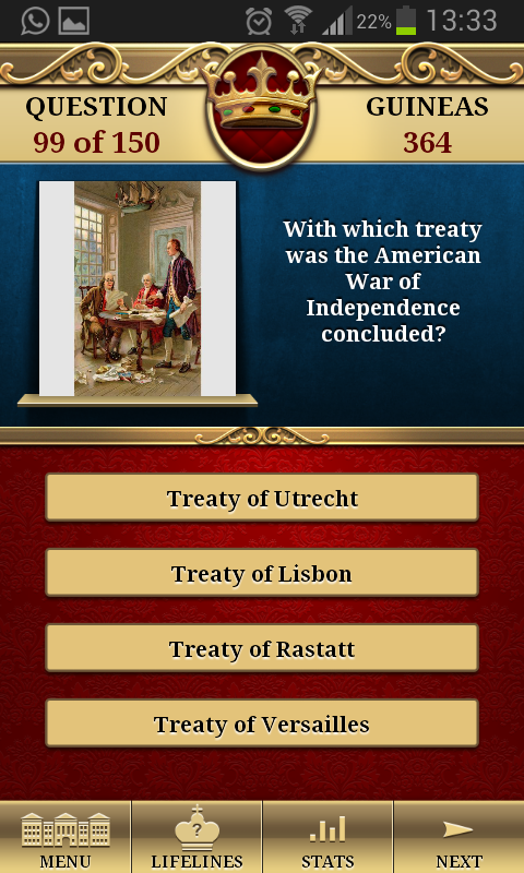Genius Quiz Modern History- screenshot