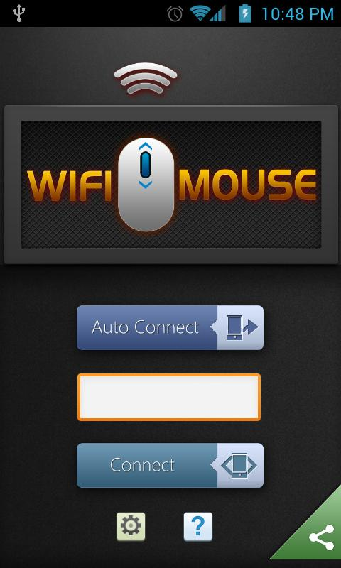 WiFi Mouse HD- screenshot