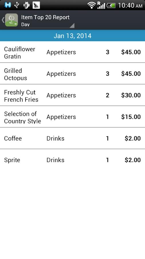 Restaurant POS (Paid) - screenshot