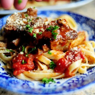 Short Ribs in Tomato Sauce.