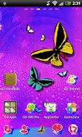 Screenshot of GO Launcher EX Theme Butterfly