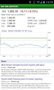 Google Finance - screenshot thumbnail