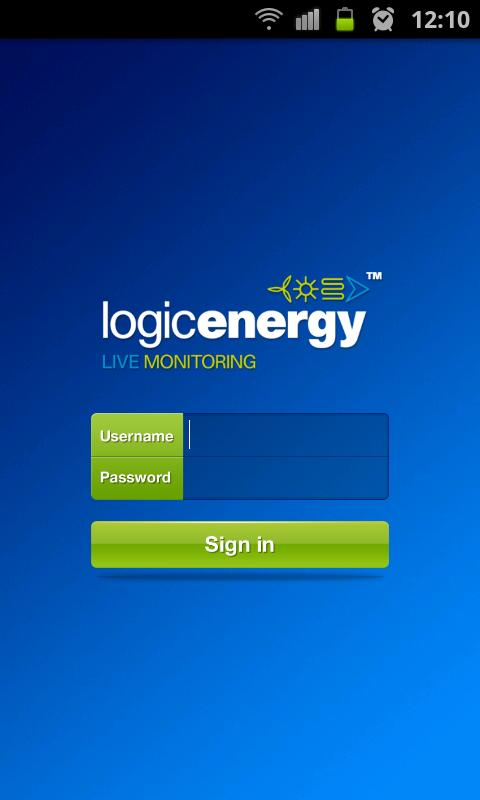 Live Monitoring Logic Energy- screenshot