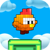 Floppy Chick 3D - tap to flap
