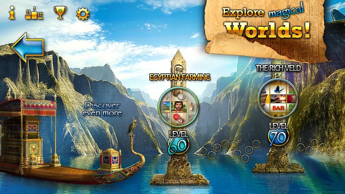 Slots - Pharaoh's Way- screenshot