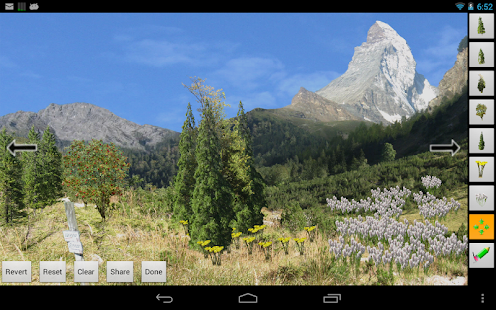 Mountains Live Wallpaper- screenshot thumbnail