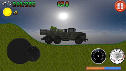 Army Truck Race