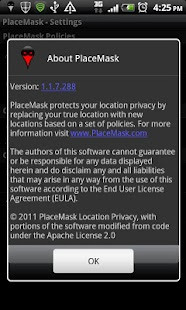 Location Privacy TRIAL - screenshot thumbnail