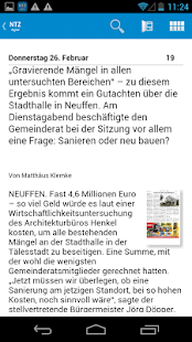 Nürtinger Zeitung digital- screenshot thumbnail