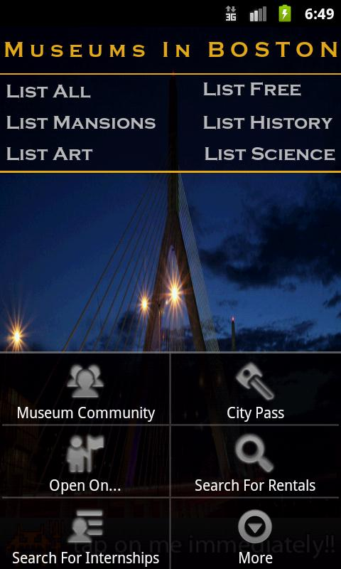 Museums In Boston - screenshot