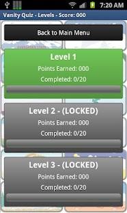 Vanity Quiz Game- screenshot thumbnail