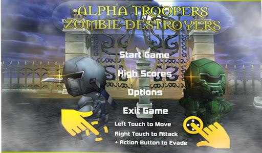 Alpha Troops Zombie-Gunship