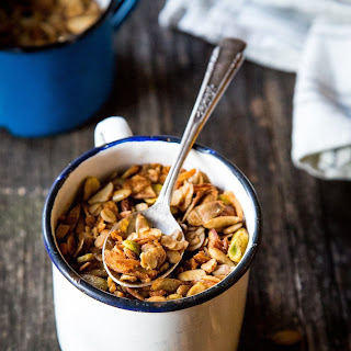Cardamom-Spiced Granola with Tahini