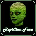 Reptilian Face logo
