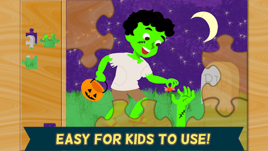Halloween Games- Kids Puzzle 2- screenshot thumbnail