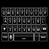 Black Keyboard Skin