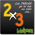 MatBoom, tablas de multiplicar logo
