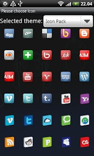 Icon Pack GO Launcher EX - screenshot thumbnail