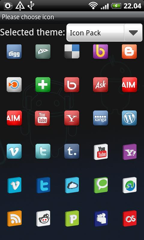 Icon Pack GO Launcher EX- screenshot