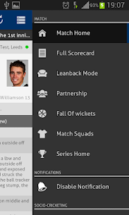 Cricket Pro - Live Scores - screenshot thumbnail