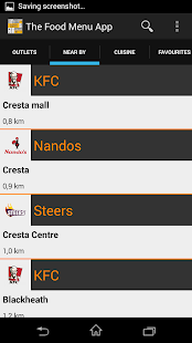 The Food Menu App beta - screenshot thumbnail