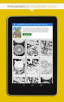 Screenshot of Huebert: coloring fun
