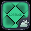 LOZENGE THEME GO WEATHER EX icon