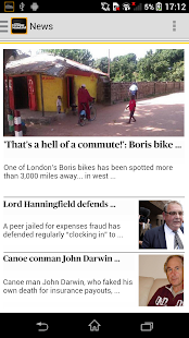 London Evening Standard- screenshot thumbnail