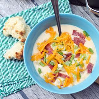 Zesty Potato Soup - Holiday Party Recipes