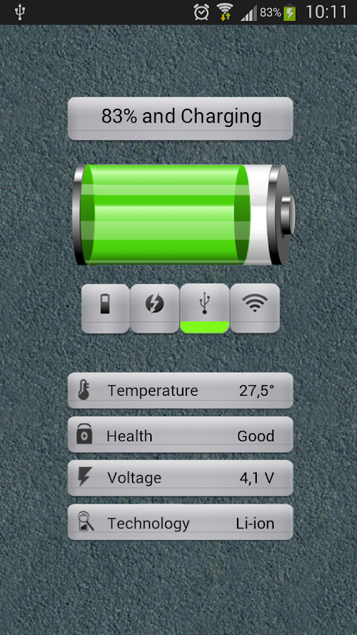 Battery Monitoring - screenshot