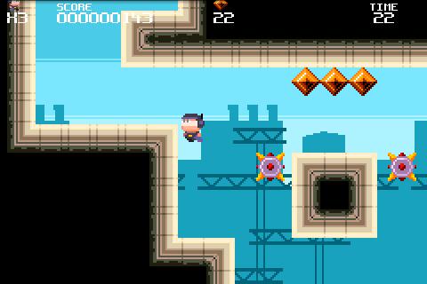 Meganoid FREE screenshot #2