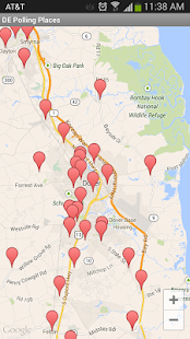 Delaware Polling Places - screenshot thumbnail